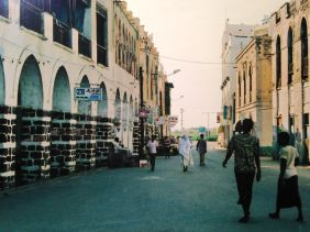 The sleepy streets of Massawa.