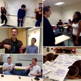 """""""Tea with Sonja"""" events with international exchange students at Cal State LA"""