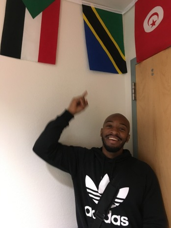 Cal State LA student Karyos studying Swahili abroad with the Boren African Flagship Languages Initiative (AFLI)