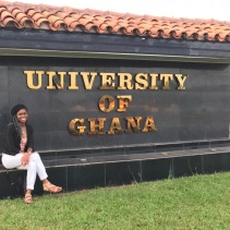 Cal State LA student Alesia studying abroad for the year in Ghana
