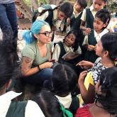 Faculty-led Child Development program to India