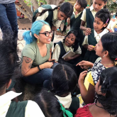 Faculty-led Child Development program to India