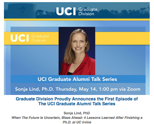 UCI Email Announcement